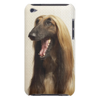 Afghan hound sitting in room barely there iPod case