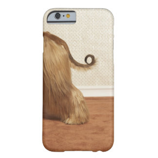 Afghan hound standing in room, end section barely there iPhone 6 case