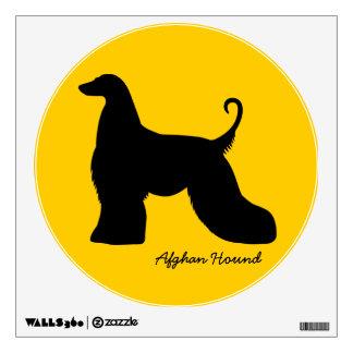 Afghan Hound Wall Sticker