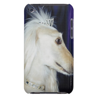 Afghan Hound wearing Tiara Barely There iPod Cover