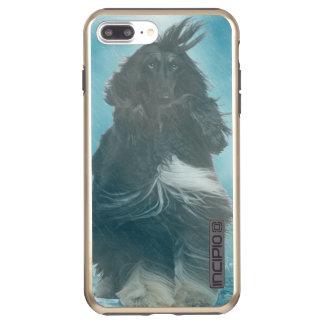 Afghan Hound Wind and Rain Blown Incipio DualPro Shine iPhone 8 Plus/7 Plus Case