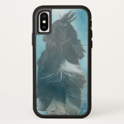 Case-Mate Barely There iPhone X Case with Afghan Hound Phone Cases design