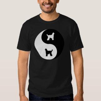 Afghan Hound Yin Yang T Shirt