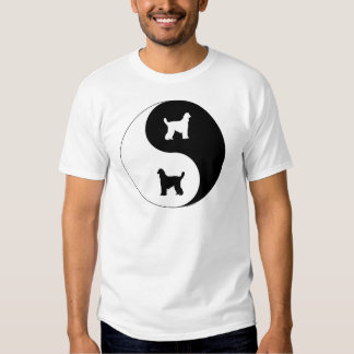 Afghan Hound Yin Yang T-shirt