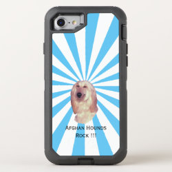 OtterBox Apple iPhone 7 Symmetry Case with Afghan Hound Phone Cases design