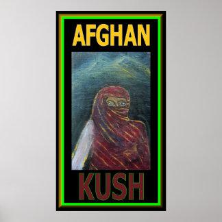 AFGHAN KUSH POSTER