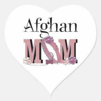 Afghan MOM Heart Sticker