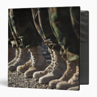 Afghan National Army Air Corp Soldiers 3 Ring Binder