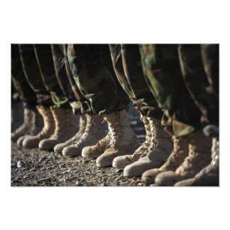 Afghan National Army Air Corp Soldiers Photo Print