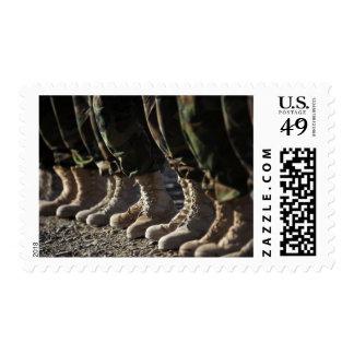 Afghan National Army Air Corp Soldiers Postage Stamp