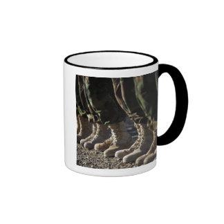Afghan National Army Air Corp Soldiers Ringer Coffee Mug