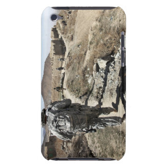 Afghan National Army and US soldiers iPod Case-Mate Cases