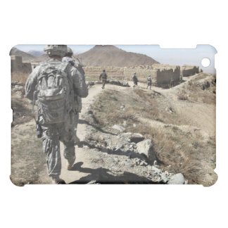 Afghan National Army and US soldiers iPad Mini Cases