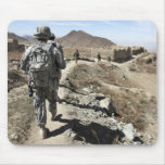 Afghan National Army and US soldiers Mousepads
