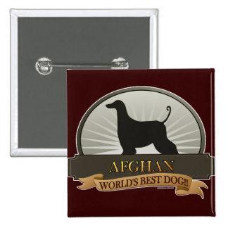 Afghan Pinback Button