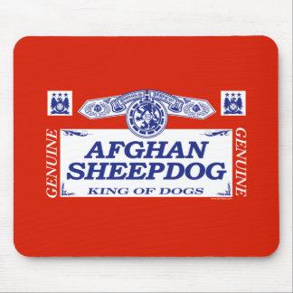 Afghan Sheepdog Mouse Pad