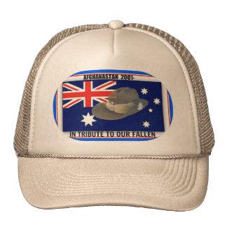 Afghan vets cap 2001- trucker hat