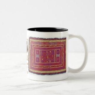Afghan Wedding Textile Coffee Mug