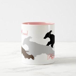 AfghanHound Two-Tone Coffee Mug