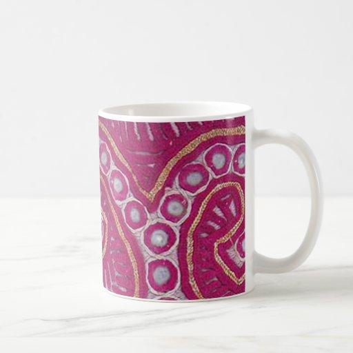 Afghani Textile Remnant 2 Classic White Coffee Mug