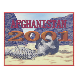 Afghanistan 2001 print