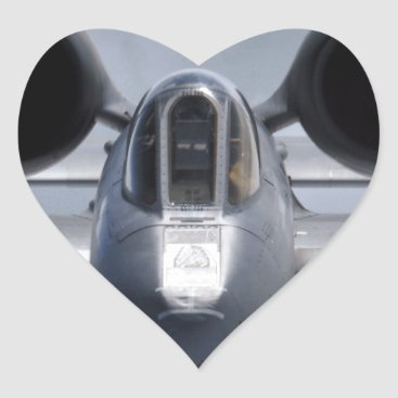 AFGHANISTAN A-10 CLOSEUP HEART STICKER