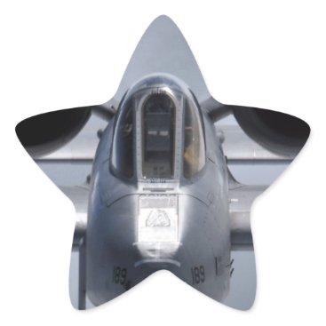 AFGHANISTAN A-10 CLOSEUP STAR STICKER