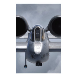 AFGHANISTAN A-10 CLOSEUP STATIONERY