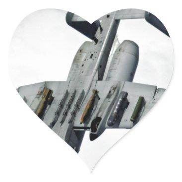 AFGHANISTAN A-10 SPLIT S HEART STICKER