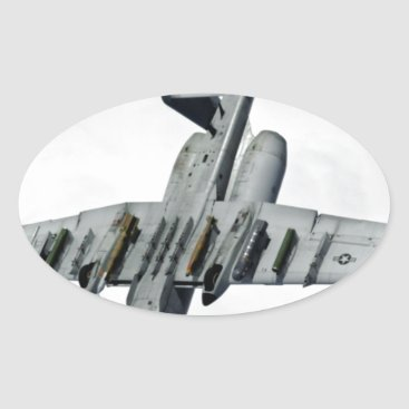 AFGHANISTAN A-10 SPLIT S OVAL STICKER