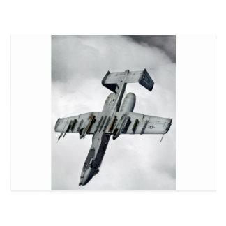 AFGHANISTAN A-10 SPLIT S POSTCARD