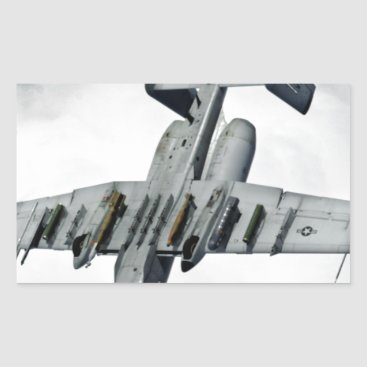 AFGHANISTAN A-10 SPLIT S RECTANGULAR STICKER