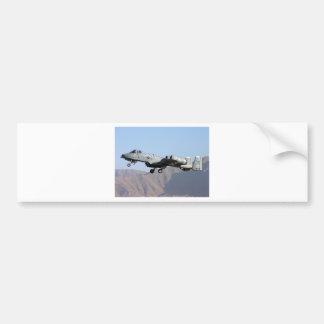 AFGHANISTAN A-10 TAKEOFF BUMPER STICKER
