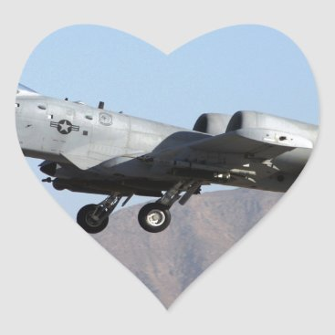 AFGHANISTAN A-10 TAKEOFF HEART STICKER