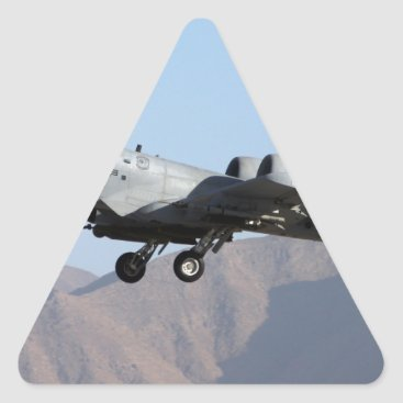 AFGHANISTAN A-10 TAKEOFF TRIANGLE STICKER