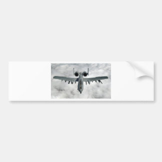 AFGHANISTAN A-10 THUNDERBOLT FRONT LOOK BUMPER STICKER