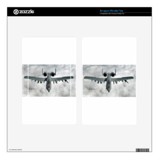 AFGHANISTAN A-10 THUNDERBOLT FRONT LOOK KINDLE FIRE DECAL