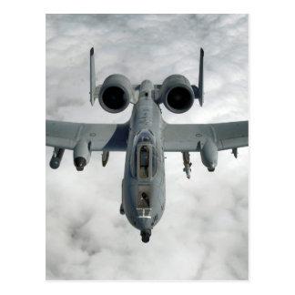 AFGHANISTAN A-10 THUNDERBOLT FRONT LOOK POSTCARD