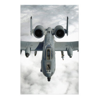 AFGHANISTAN A-10 THUNDERBOLT FRONT LOOK STATIONERY