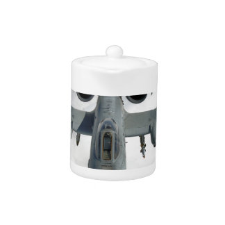 AFGHANISTAN A-10 THUNDERBOLT FRONT LOOK TEAPOT