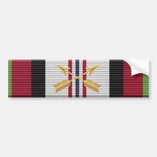 Afghanistan ACM Special Forces Insignia Sticker Bumper Sticker