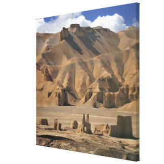 Afghanistan, Bamian Valley. Ancient earthen Canvas Prints