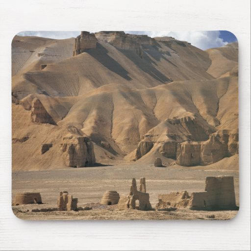 Afghanistan, Bamian Valley. Ancient earthen Mouse Pad