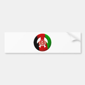 Afghanistan Car Bumper Sticker