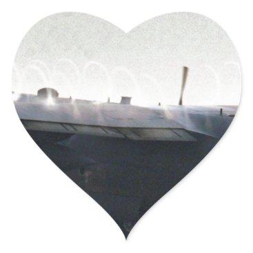 AFGHANISTAN C-130 HERCULES TAKEOFF HEART STICKER