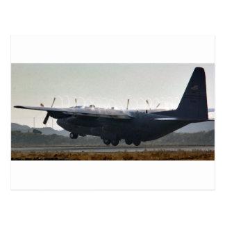 AFGHANISTAN C-130 HERCULES TAKEOFF POSTCARD