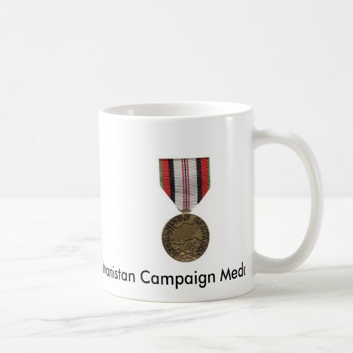 Afghanistan Campaign Medal Coffee Mugs