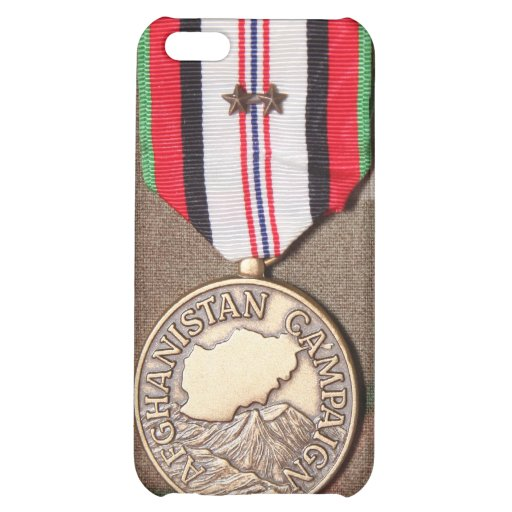 afghanistan campaign medal iPhone 5C cases
