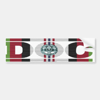 Afghanistan Campaign Medal Ribbon DOC Sticker