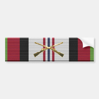 Afghanistan Campaign Ribbon Armor Branch Sticker Bumper Stickers